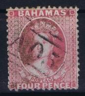 BAHAMAS:  SG 18  Mi 3 D   Used 1860  No WM Perfo 13 - Bahamas (1973-...)
