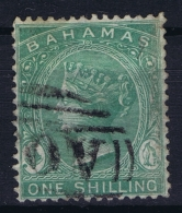 BAHAMAS:  SG 39  Mi 8 C  Used 1863  CC WM Perfo 14 - Bahamas (1973-...)