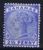 BAHAMAS:  SG 51  Mi 14a Blue MH/* Falz/ Charniere - Bahamas (1973-...)