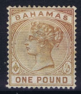 BAHAMAS:  SG 57  Mi 18  MH/* Falz/ Charniere   WM CA - Bahamas (1973-...)