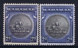 BAHAMAS:  SG 131 + 131a  Mi 93a + 93b  MH/* Falz/ Charniere  1931 - Bahamas (1973-...)