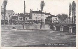 77 - Melun : St Aspais Et Le Pont - CPA Neuve - Melun