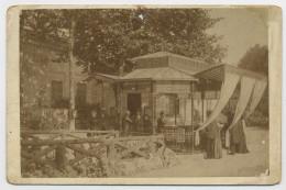 PHOTO ORIGINALE SUR PAPIER ALBUMINÉ (10x15) COLLÉE SUR CARTON (11X16,5) -  GOURGUES 1892 12 JUILLET AU 10 AOUT SUIVANT - Photos