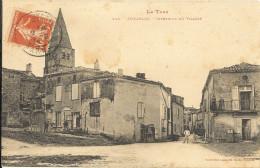 PUYCELCI : Intérieur Du Village ( Att Marque D Une Tache)  92 - Francia