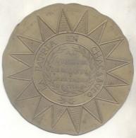 FACSIMIL ESCUDO DE PAÑO RARISIME AÑO 1915 LA PATRIA EN CHACABUCO AL VENCEDOR DE LOS ANDES LIBERTADOR DE CHILE - Firma's