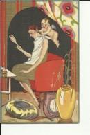 TH1183   --  CARLO CHIOSTRI  Pinx.  --  ART DECO   --   EDIT.:  BALLERINI &  FRATINI   -- No. 81 - Chiostri, Carlo