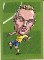 Sticker - Soccer - Euforia 2016., Croatia - No. 223 - Pierre Bengtsson (Sweden) - Adesivi