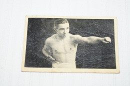 Boxeur,1930,Nicolas Petit-Biquet, Photo Carton Pour Collection,RARE - Boxing
