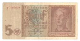 Germany 5 Mark 1942 - 5 Reichsmark