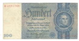 Germany 100 Mark 1935 - [ 4] 1933-1945: Derde Rijk