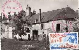 1966-Tp Du 9eme Cente. De La Bataille D'Hasting (n°1486) Sur CP Du Château De Guillaume Le Conquérant à Bonneville/Touqu - 1960-69