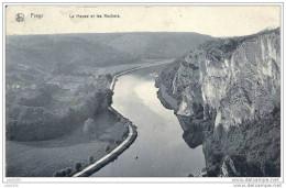 FREYR ..-- WAULSORT ..-- HASTIERE ..-- Meuse Et Rochers .1908 Vers BXL ( Mr Lankmuer ) . Voir Verso . - Hastière