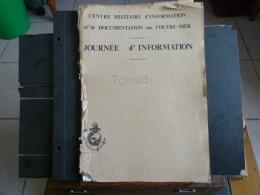 Journée D'information Tchad - Document De L´armée édité Par Le CMIDOM  - 1979 - France-Afrique - Documents
