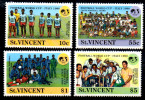 ST VINCENT  N° 1166 I/M * *  ( Cote 8e )  Cup 1990  Football  Soccer Fussball - 1990 – Italië