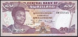 Swaziland 20 Emalangeni 2006 P30c UNC - Swaziland
