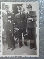 72 LE MANS PHOTO DEFILE  DE LA MUSIQUE CHEF DE LA MUSIQUE DE L'AIR CLAUDE LATY 20 SEPT 1936 - Places