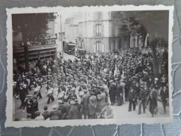 72 LE MANS PHOTO DEFILE  DE LA MUSIQUE DE L´AIR 19  SEPT 1936 - Places