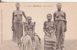 9-Congo Francese-Gruppo Di Donne Bondjios-v.1906 X Parigi-Francia - Congo Francese - Altri