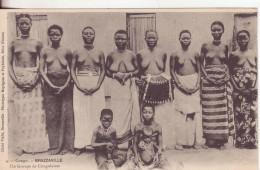 10-Congo Francese-Gruppo Di Donne Congolese-v.1906 X Parigi-Francia - Congo Francese - Altri