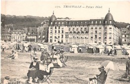 TROUVILLE - Palace Hotel - Belle Carte Animée - Trouville