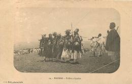 ETHIOPIE HARRAR SOLDATS ABYSSINS  CARTE POSTALE ABYSSINIE - Ethiopia
