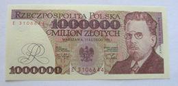 POLAND 1,000,000 1 MILLION ZLOTYCH 1991 P 157 GEM UNC, Wladyslaw Reymont - Polonia