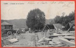 CPA (Comblain-au-Pont) LIOTTE - L'Entrée De La Carrière (Scierie) ° De Graeve N° 4438 - Comblain-au-Pont