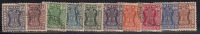 Service Used, Set Of 10, Star Wmk, India 1967, (Sample Image) - Timbres De Service