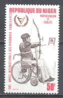 Niger YT N°536 Année Internationale Des Personnes Handicapées Neuf ** - Niger (1960-...)