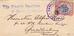 GUATEMALA 1908 - 50 ? Auf Kleinen Brief Gel.v.Guatemala Nach Quedlingburg - Guatemala