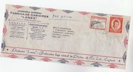 1960s  Air Mail VENEZUELA Stamps ADVERT COVER To  GB - Venezuela