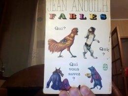 Fables Anouilh Jean - Poésie