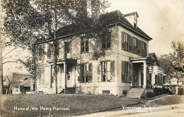 265763-Indiana, Vincennes, RPPC, William Henry Harrison Home, Grouseland, Shores Photo - Verenigde Staten