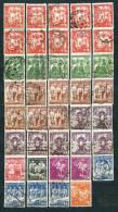 Poland Polen 1938, MiNr 331-343 + 355 - Incomplete - Lot Of 39 Stamps Used And Unused, Nice Cancels - See Description - 1919-1939 République