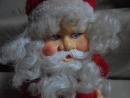 Ancien - Petit Père Noël Automate (Fonctionne à Moitié) - Weihnachtsmänner