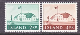 ICELAND  315-16      * - 1944-... Republic