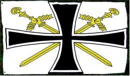 Flagge / Fahne Oberbefehlshaber Kriegsmarine Bis 1945  -  Material : Polyester  -  Größe Ca. 150 X 88 Cm - Flaggen
