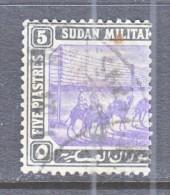 BRITISH  MILITARY  TELEGRAPH  T 10  Rosetta  Wmk.  (o) - Sudan (...-1951)