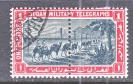BRITISH  MILITARY  TELEGRAPH  T 16   (o)   Crescent  Wmk. - Sudan (...-1951)