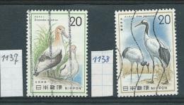 Japan    Y / T        1137 / 1138     (O) - Oblitérés