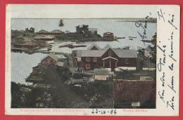 LIBERIA MONROVIA : Hafen Port Year 1906 , Recto Verso - Liberia