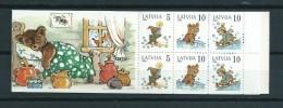 1994 Letland Complete Booklet M.Staraste MNH/Postfris/Neuf Sans Charniere - Letland