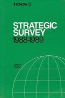Strategic Survey, 1988-89 (ISBN 9780080375564) - Books, Magazines, Comics