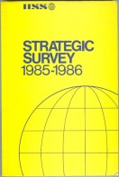 Strategic Survey, 1985-1986 (ISBN 9780860790976) - Books, Magazines, Comics