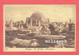 LIBYE -  BENJASI -  Un Cimitero Musulmano - Benghazi - Un Cimetière Musulman - Ecrit En Italie à Cercepiccol     (4195) - Libye