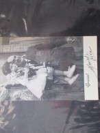 Autografo MARIO RIVA Il Musichiere  Per Sottoscrizione L.100 Istituto CRI Bimbi Minorati - Autographes