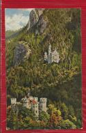 Allemagne - Königsschlosser - Hohenschwangau Und Neuschwanstein - Châteaux