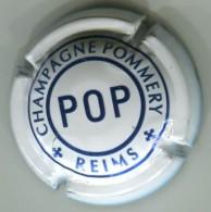CAPSULE-CHAMPAGNE POMMERY N°106 Cuvée POP Blanc & Bleu - Pomméry