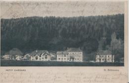 Petit Chezard / H. Fehlmann / Gelaufen 1906 - NE Neuchâtel