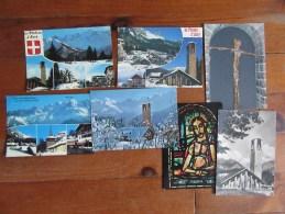 Lot De 7 Cartes Du Plateau D'Assy ( Haute Savoie ) - Postcards